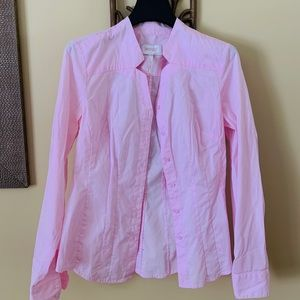 Laundry Pastel Pink Button Up
